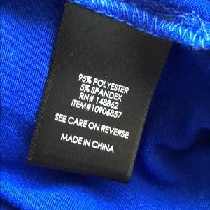 torrid Dresses - Torrid Cobalt Blue Smocked Jersey Tube Dress